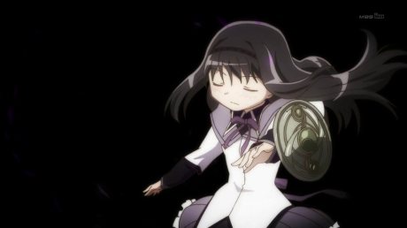 Homura and shield