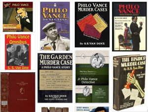 Philo Vance novels