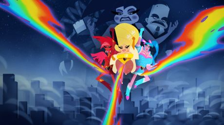 Super Drags rainbow powers