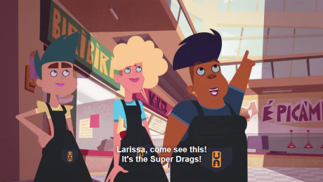 Super Drags fans