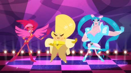 Super Drags posing